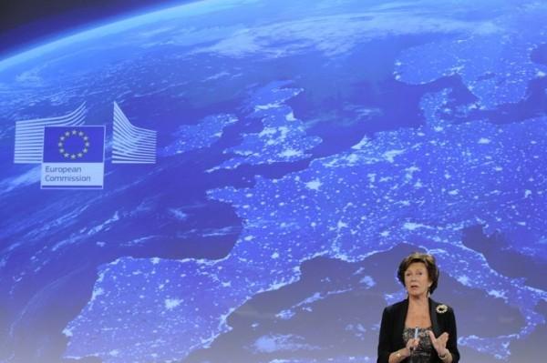 Foto: AFP/Neelie Kroes, povjerenica Europske komisije za Digitalnu agendu