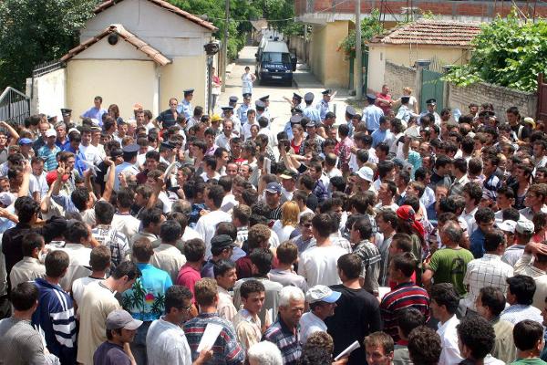 Uspon i pad albanske migrantske radne snage