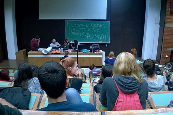 Foto: Facebook / Studentski plenum u Beogradu