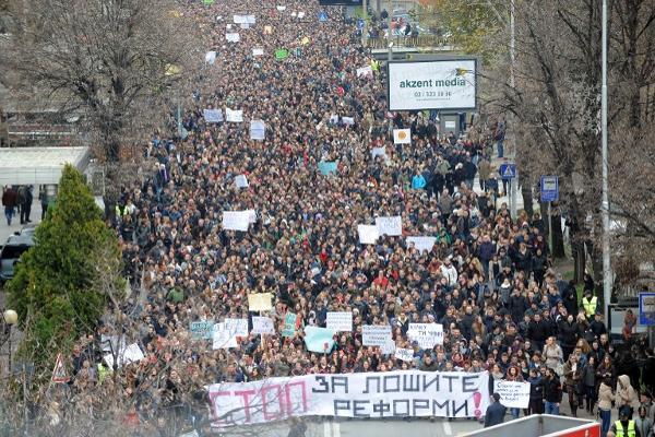 Dugo čekani otpor makedonskih studenata