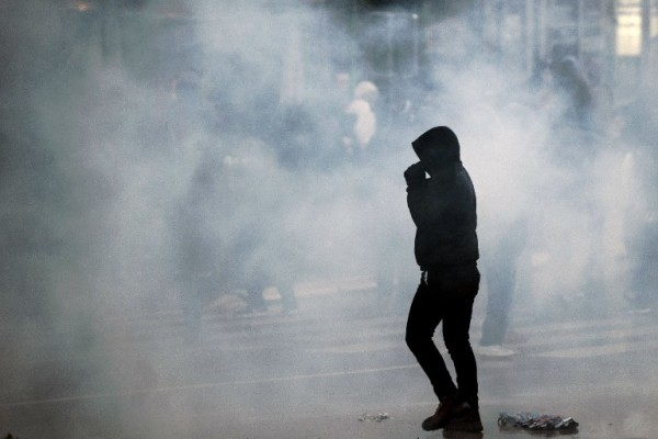 Foto; AFP / Armend Nimami / Sa prosvjeda u veljači