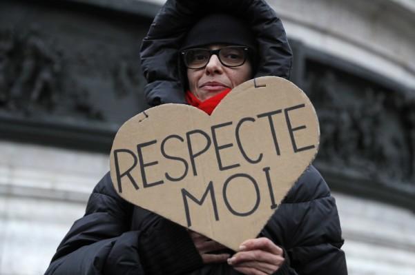 Foto: AFP / Thomas Samson / Prosvjed za jednaku plaću