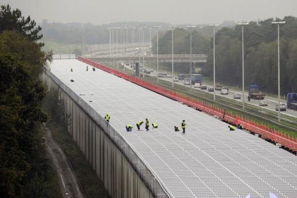 Foto: AFP / Bruno Fahy / Solarni kolektori u Belgiji