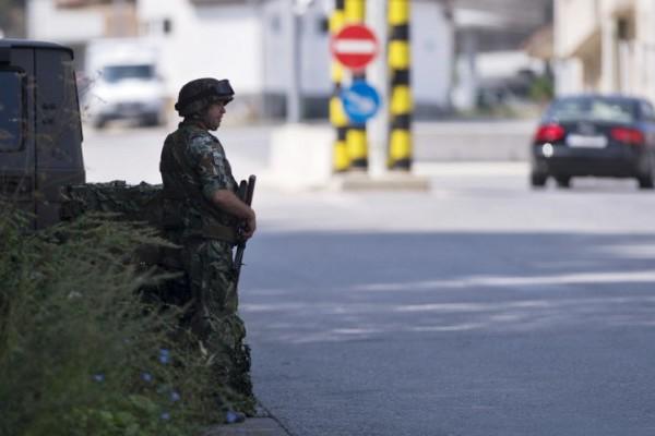 Foto: AFP / Nikolaj Dojčinov / Vojska na ulicama