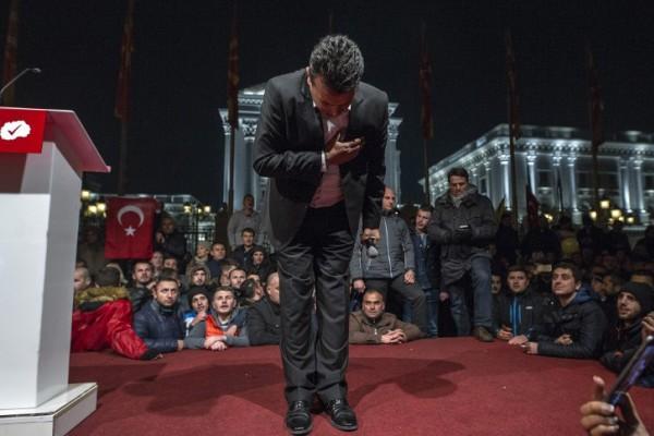 Foto: AFP / Robert Atanasovski / Zoran Zaev
