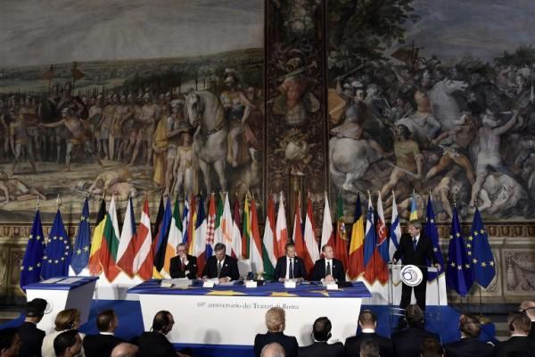 Foto: AFP / Tiziana Fabi / Potpisivanje Rimske deklaracije