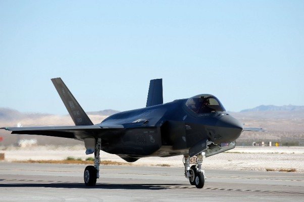 Foto: AFP / Getty Images North America / Isac Brekken /  Američki bombarder F35