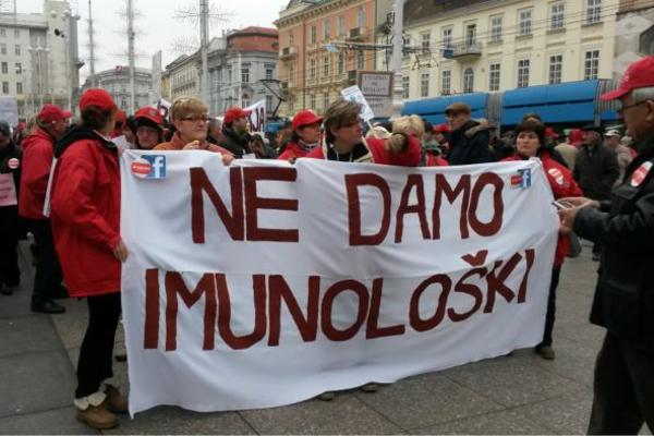 Imunološki zavod: žrtva bolesti sustava