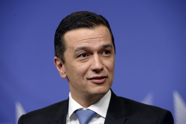 Foto: AFP / Thierry Charlier / Rumunjski permijer Sorin Grindeanu