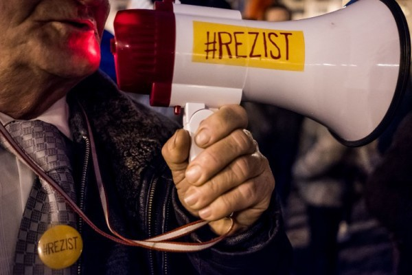 Foto: AFP / Andrei Pungovschi / Prosvjed protiv korupcije