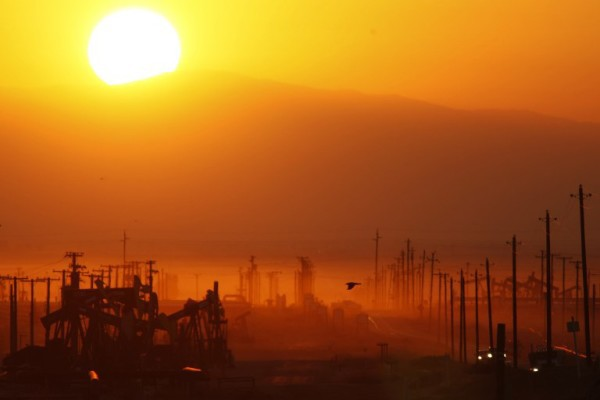 Foto: AFP / Getty Images NA / David McNew /  Fracking USA