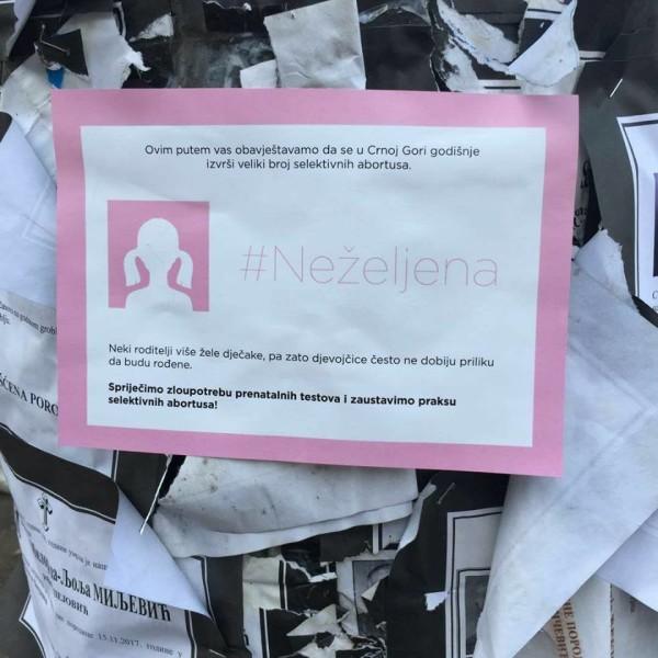 Prenatalna diskriminacija žena u Crnoj Gori
