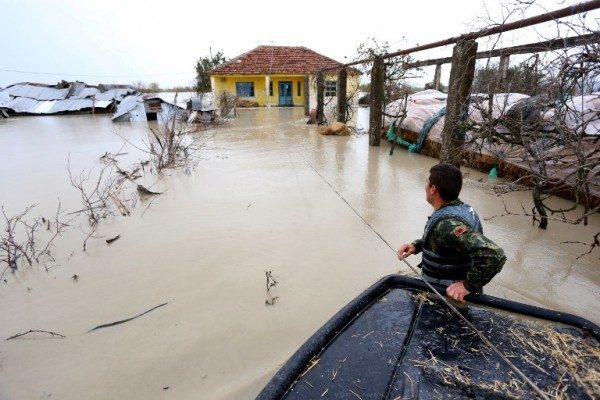 Poplave na jugu Balkana