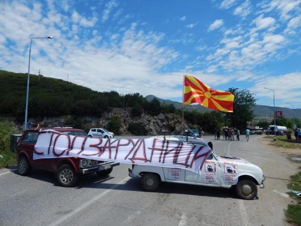 "Makedonci protiv ""rudnika smrti"""