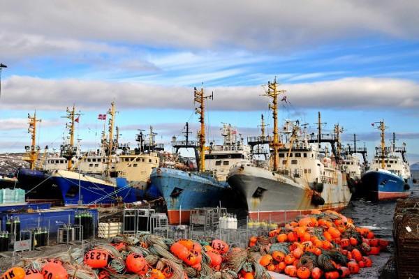 Foto: AFP / Barents Secretariat / Jonas Karlsbakk / Norveške brodice na Barentsovovom moru