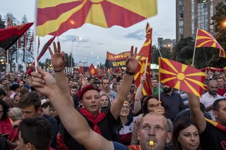 """Vrijeme za rješavanje pitanja makedonskog imena """"curi"""""""
