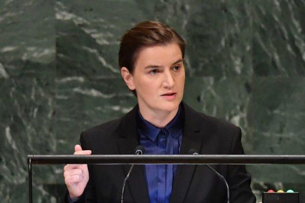 Notorne gluposti u govoru Ane Brnabić u UN-u