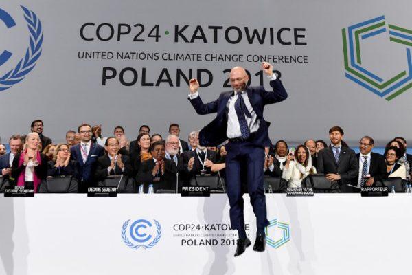 COP24: veliko tapkanje na mjestu