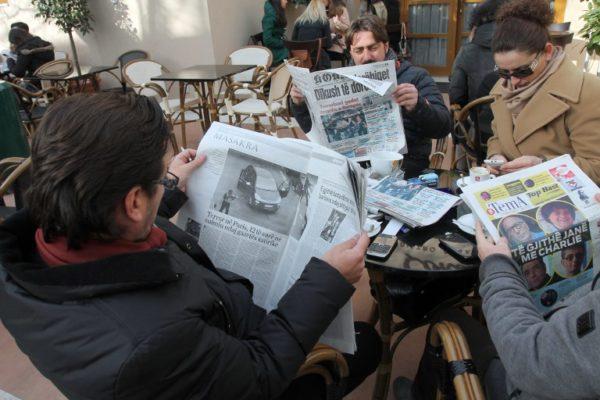 Albanski novinari protiv cenzure