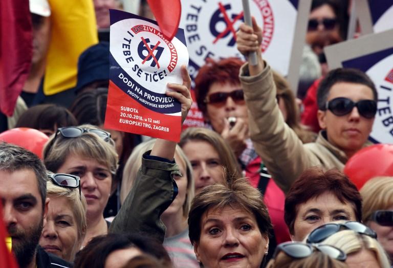 Hrvatski sindikati pokreću referendum protiv mirovinske reforme
