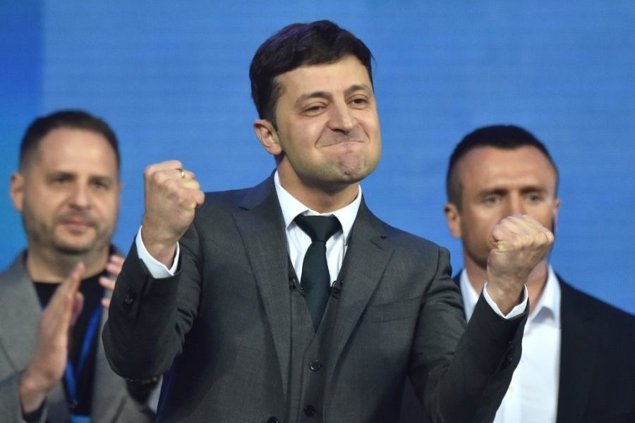 Ukrajinska Pepeljuga ili kako je komičar postao predsjednik