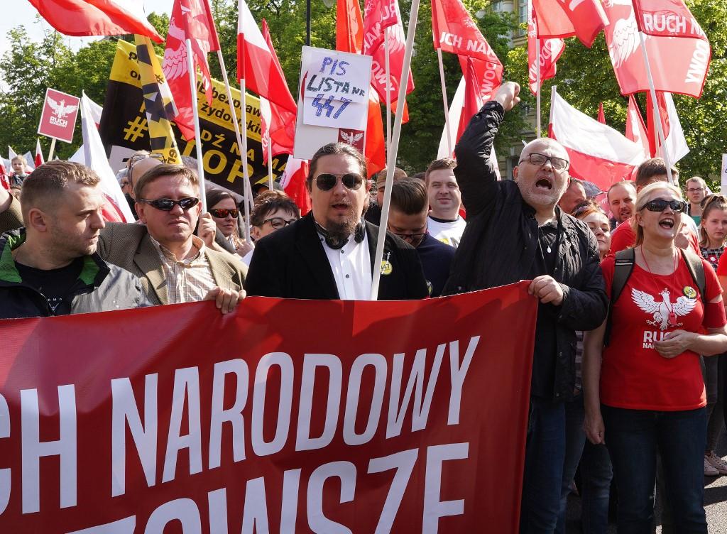 Poljski desničari prosvjedovali protiv Židova
