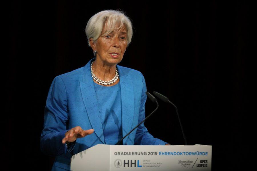 Christine Lagarde na novom poslu