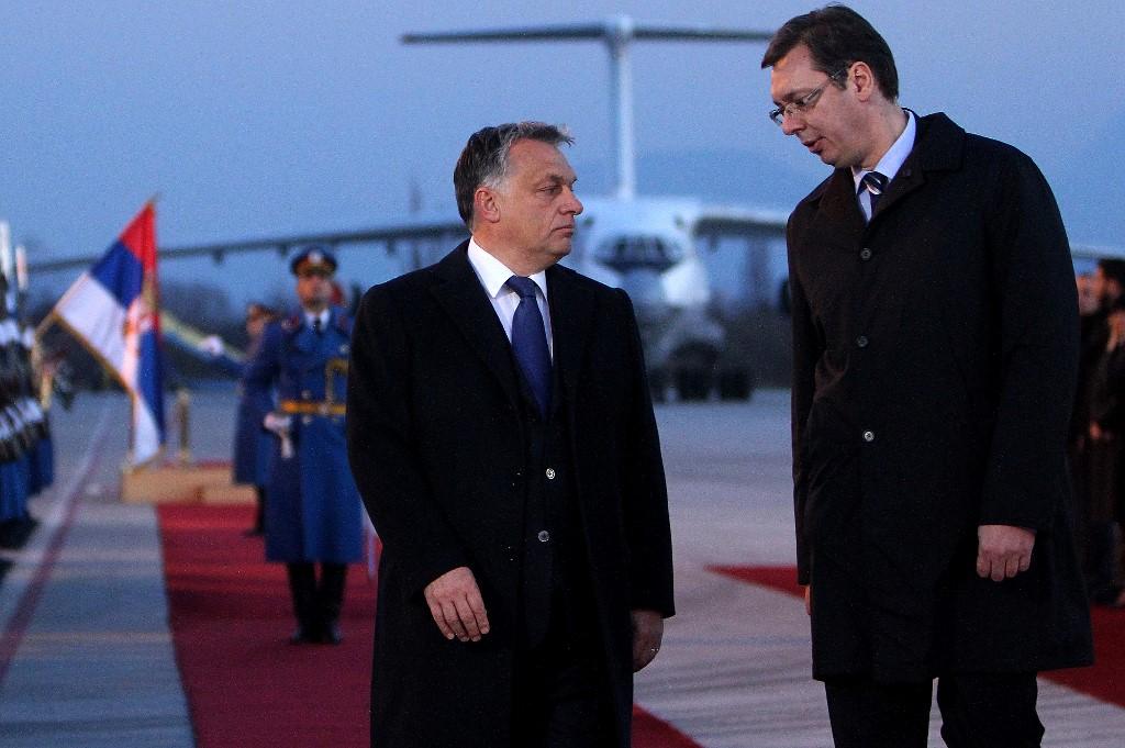 Orban i Vučić: brak iz interesa