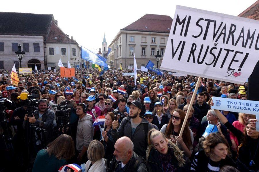 Hrvatska se zaželjela štrajka