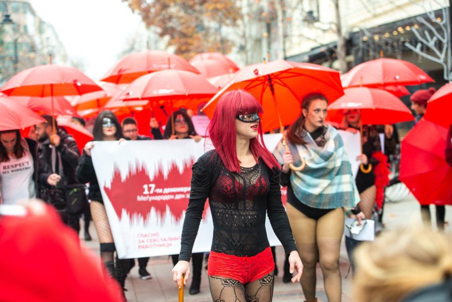 Prosvjed seksualnih radnica u Skopju