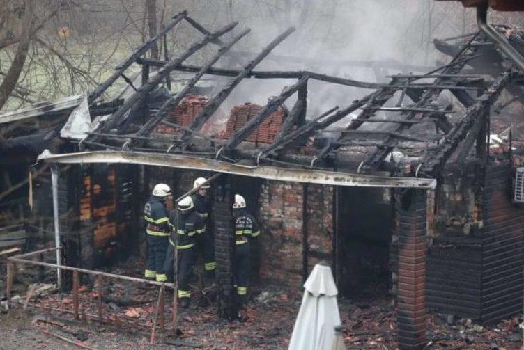 Požar u staračkom domu