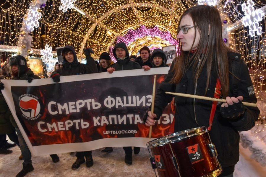 Državna tortura nad ruskim antifašistima