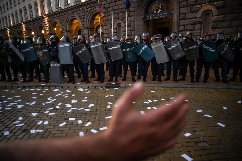 Bugarski protestni val