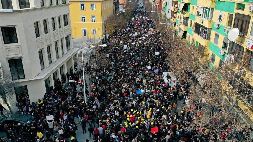 Borba za besplatno obrazovanje u Albaniji