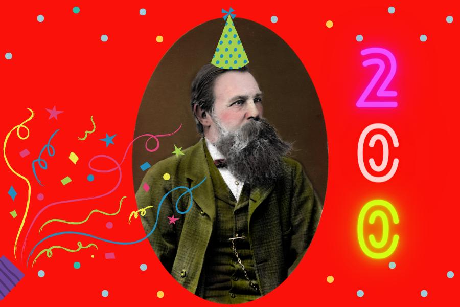 Engelsova rođendanska proslava – buntovan i kao 200-godišnjak