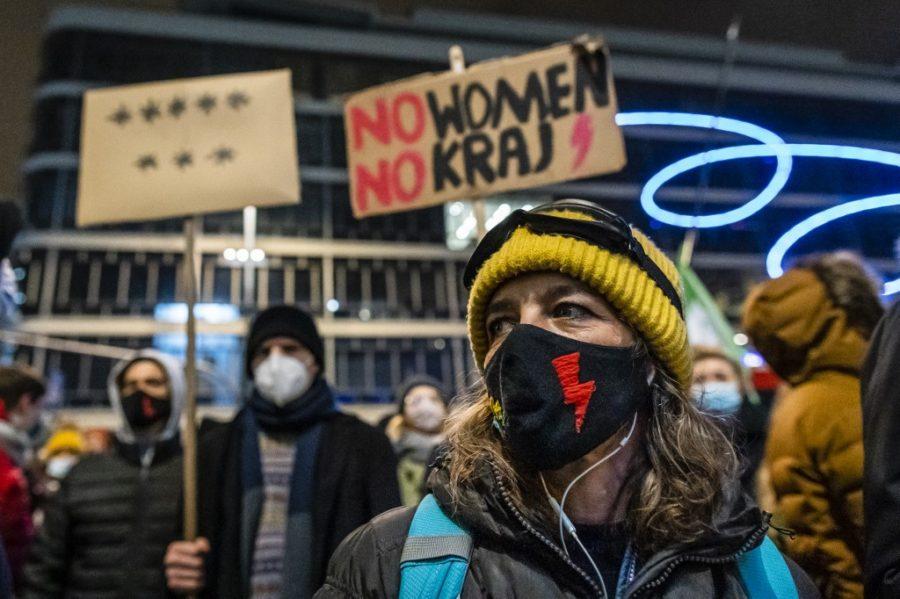 Prosvjedi protiv zabrane pobačaja u Poljskoj