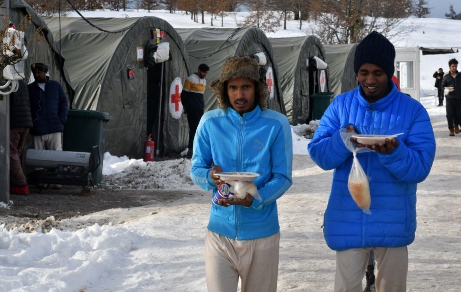 Pogranično sabiranje izbjeglica