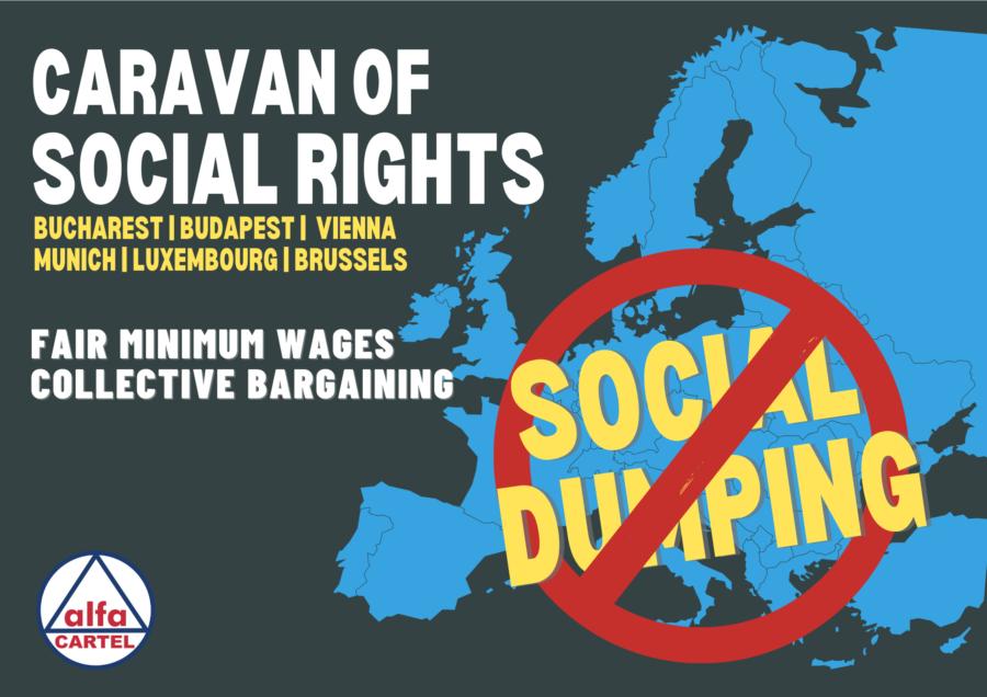 Karavana od 2.000 km za prava rumunjskih radnika/ica
