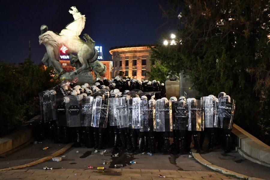 Preteća policijska država Srbija